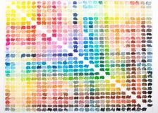 Tavolozza dell'acquerello con i colori variopinti come pittura royalty illustrazione gratis