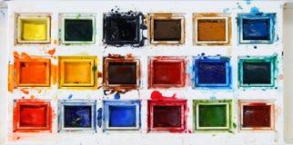 Tavolozza di colore Immagine Stock Libera da Diritti