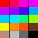 Tavolozza di colore dell'arcobaleno Fotografie Stock Libere da Diritti