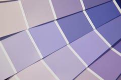 Tavolozza di colore della carta nei toni porpora Immagine Stock Libera da Diritti