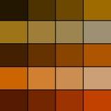 Tavolozza di colore di Brown Fotografia Stock Libera da Diritti