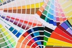 Tavolozze di colore fotografia stock libera da diritti