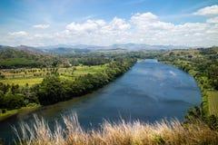 Tavuni-Hügel-Ansicht stockfoto