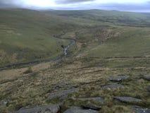 Tavy se fendent, Dartmoor photos stock