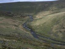 Tavy se fendent, Dartmoor image stock