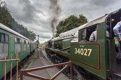 Taw Valley Steam Locomotive Stock Photos