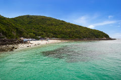 Tawaen beach at Lan island Stock Photos