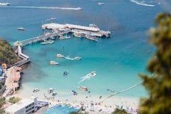 Tawang beach  koh Lan Royalty Free Stock Images