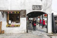 Tawang street stock images