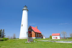 Tawas Point Lighthouse, built in 1876 Royalty Free Stock Photography