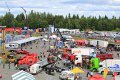 Tawastia Truck Weekend 2015, General View Stock Image
