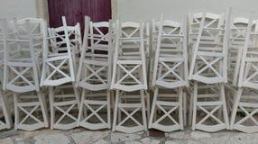 Tawern krzesła obrazy stock