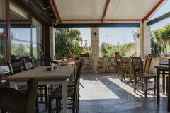 Tawerna W Crete Zdjęcie Stock