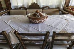 Tawerna W Crete Zdjęcia Royalty Free