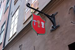 Tawerna w Sztokholm Obraz Royalty Free