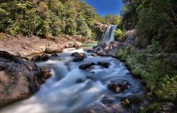 Tawhai понижается (национальный парк Tongariro, Новая Зеландия) стоковая фотография