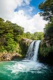 Tawhai Falls in New Zealand Stock Photo