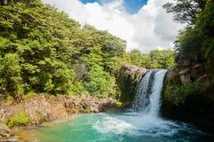 Tawhai Falls in New Zealand Royalty Free Stock Photo