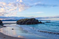 Tawharanui regionalności park Zdjęcie Royalty Free