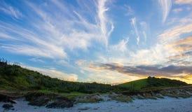 Tawharanui regionalności park Obrazy Royalty Free