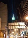 Tawor d'horloge de nuit d'Eid Image libre de droits