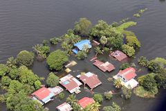 tawung Таиланд lopburi flooding Стоковые Изображения