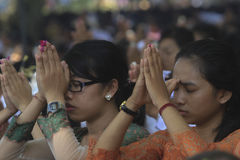Tawur Agung Kesanga Photographie stock libre de droits