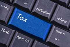 Tax Stock Image