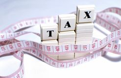 Tax Royalty Free Stock Image