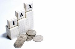 Tax Royalty Free Stock Photo