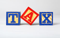 Tax Royalty Free Stock Photography