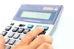 Tax Accounting Royalty Free Stock Images