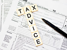 Tax Advice Stock Photography