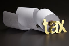 Tax alphate Stock Photo