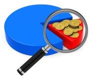 The tax analysis Royalty Free Stock Photos
