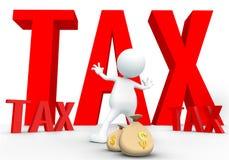 Tax avoidance 3D Royalty Free Stock Photos