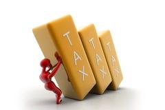 Tax bar Royalty Free Stock Photos