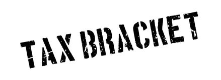 Tax bracket rubber stamp Stock Photography
