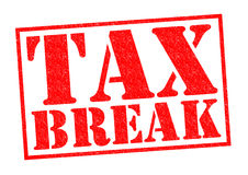TAX BREAK Royalty Free Stock Photo