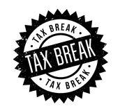 Tax Break rubber stamp Stock Images