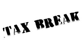 Tax Break rubber stamp Royalty Free Stock Image
