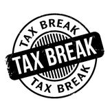 Tax Break rubber stamp Royalty Free Stock Images
