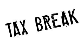 Tax Break rubber stamp Stock Photos