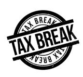 Tax Break rubber stamp Stock Photo