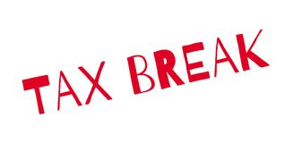 Tax Break rubber stamp Royalty Free Stock Photography