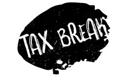 Tax Break rubber stamp Royalty Free Stock Photo