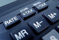 Tax button Royalty Free Stock Photos