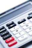 Tax calculator keypad Stock Photo