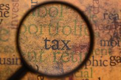 Tax concept Stock Photography