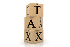 Tax concept Royalty Free Stock Photography